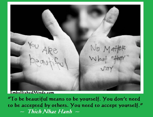 love yourself Thich Nhat Hanh Quotes: Accept Yourself