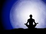 moon meditation silhouette Meditation, Yoga, & Relaxation