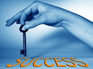 key of success  About