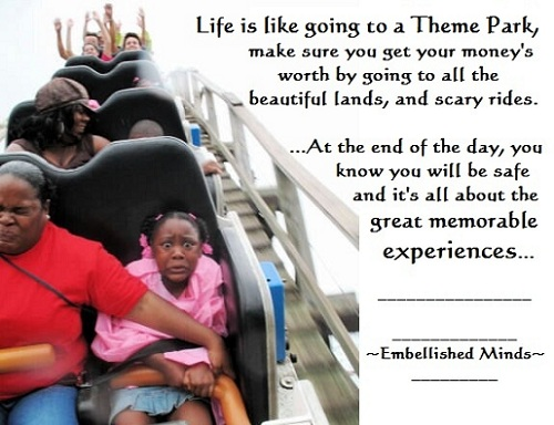 Life Quotes - Scary Rides