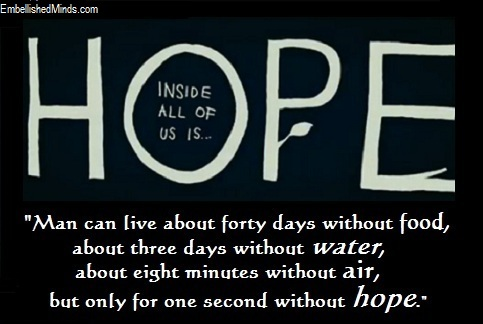 Image of: Lose Hope Hope Quotes Hope Image Embellished Minds Famous Hope Quotes Archives Embellished Minds