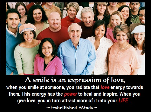 love quotes - smiling