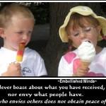wisdom quotes - envy