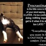 Motivational quotes - Procrastination