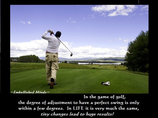 motivational quotes in the game of golf