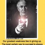 motivational quotes thomas edison lightbulb 150x150 Motivational Quotes