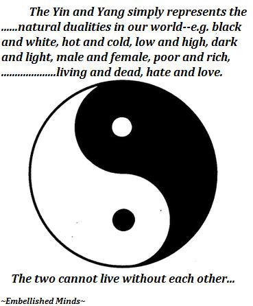 wisdom quotes Yin Yang symbol Wisdom Quotes: The Yin and Yang