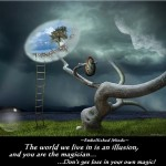 wisdom quotes - the world in an illusion