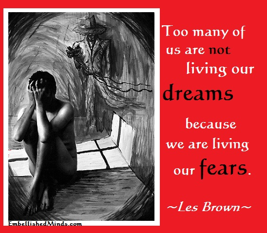 les brown quotes life quotes fear Life Quotes: Living Life in Fear