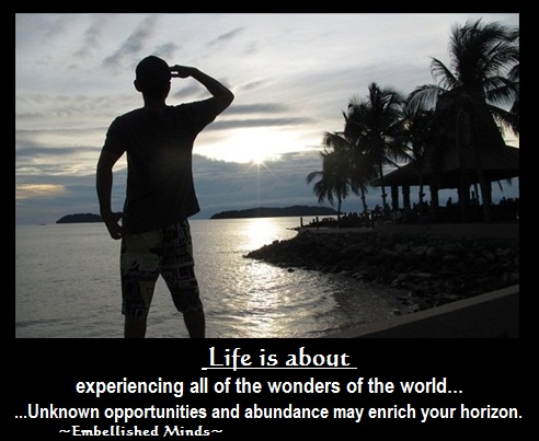 life quotes looking into the sky Life Quotes: Enrich Your Horizon