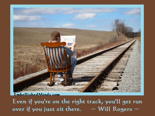 motivation quotes will rogers quotes Motivation Quotes | Will Rogers Quotes: Youll Get Run Over