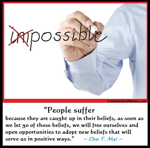 beliefs quotes don mai Belief Quotes   People Suffer by Don T. Mai